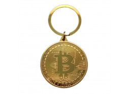 Llavero Moneda Bitcoin
