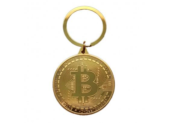 Llavero Moneda Bitcoin