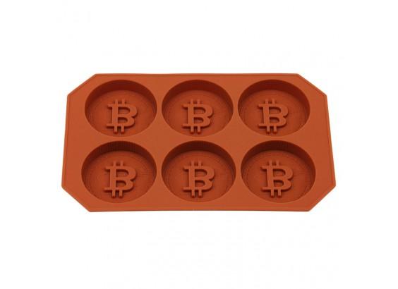 Molde para hacer hielos Bitcoin