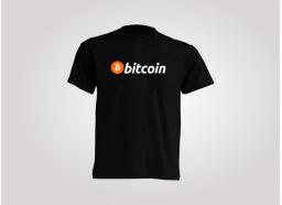 Camiseta Bitcoin Negra
