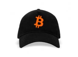 Gorra Bitcoin Logo Negra